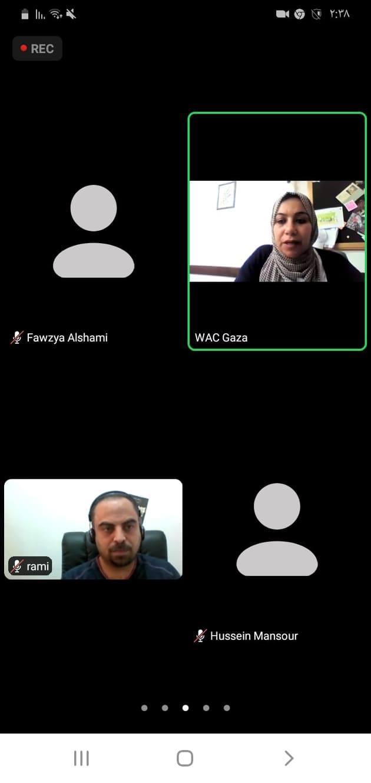 تداعيات جائحة كورونا (كوفيد 19) على المشاريع الصغيرة ومتناهية الصغر التي تقودها نساء في قطاع غزة